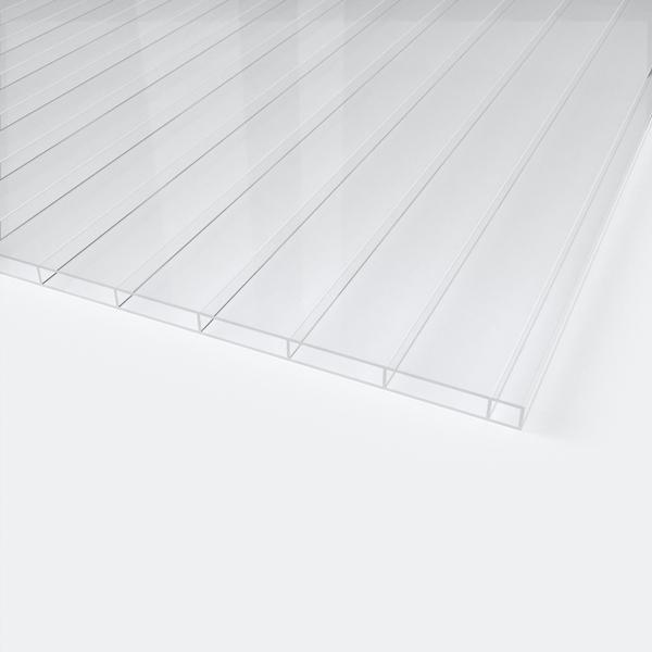 16 mm Stegplatte, PLEXIGLAS, Schutzwand, Acrylglas