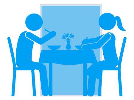 alwo® Trennwandsystem medium für Gruppensitzplätze