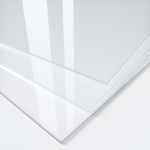 transparente Massivplatten, Kunststoff, PLEXIGLAS, Acrylglas, Polycarbonat